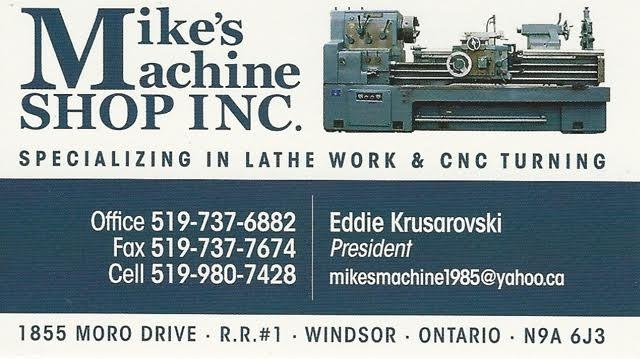 Mike's Machine Shop Inc