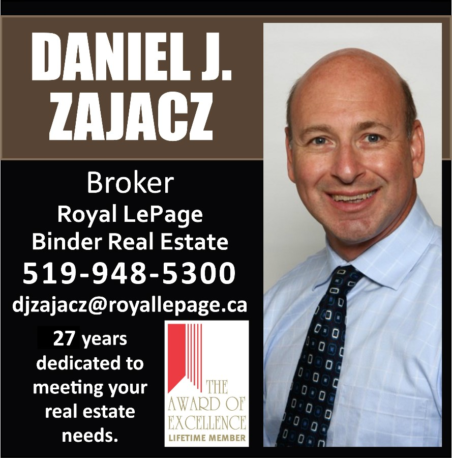 Daniel Zajacz: Royal Lepage Binder Real Estate